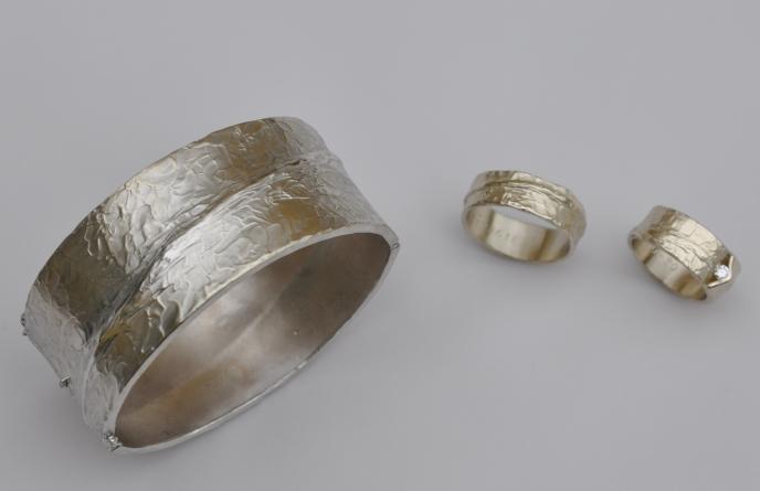 armband met trouwringen